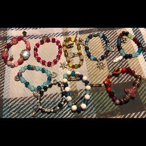 Jewelry - Lot 4 ** 9 home made bracelets